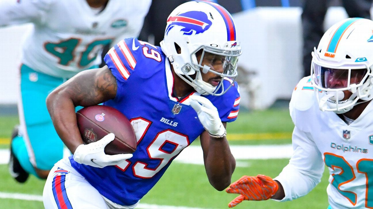 Buffalo Bills receivers Isaiah McKenzie, Cole Beasley fined for COVID-19 protocol violations