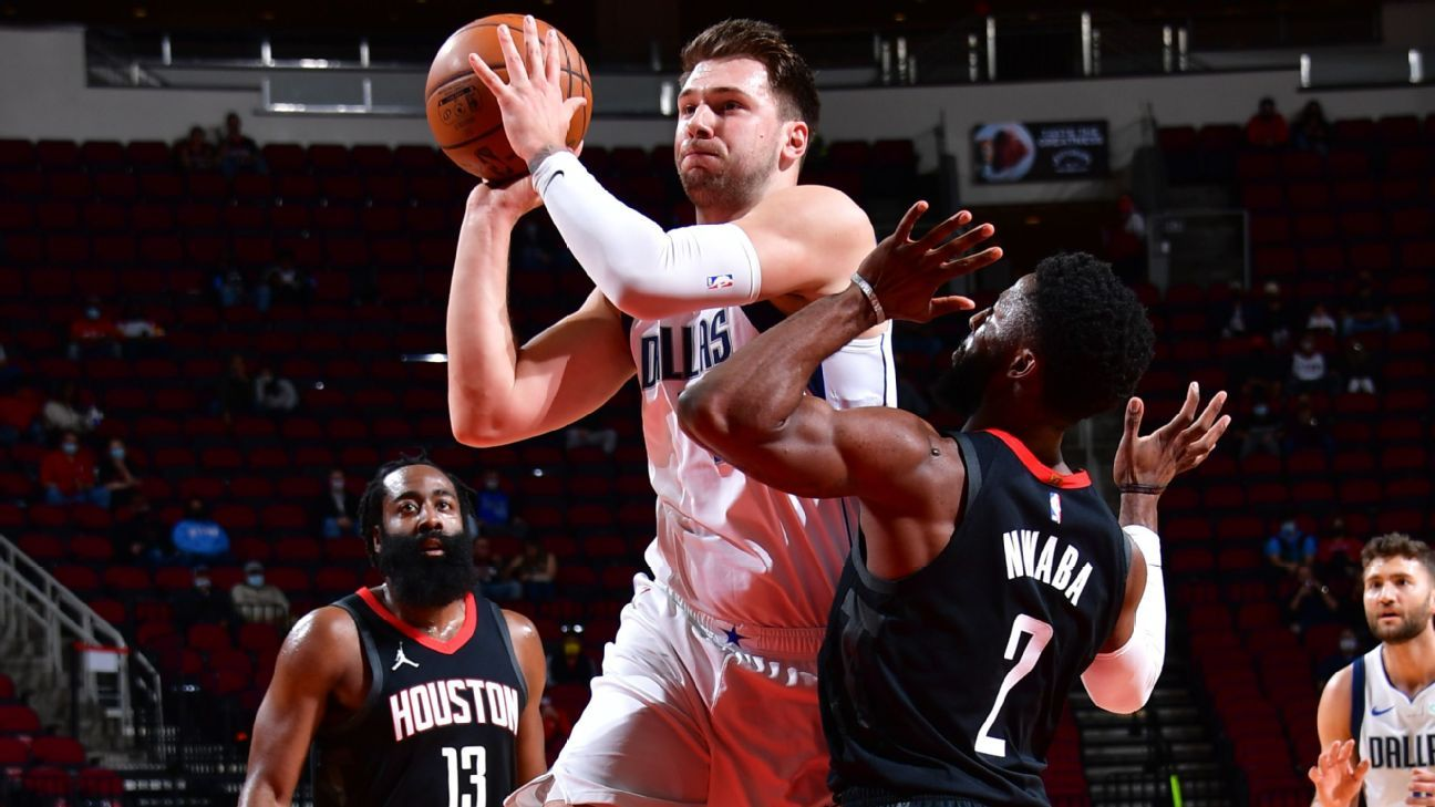 Luka posts triple-double after being 'behind curve'