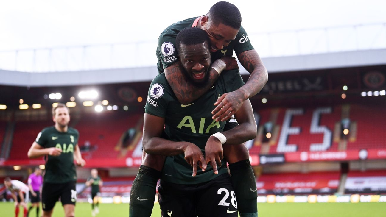 Ndombele stunner shoots Spurs to victory