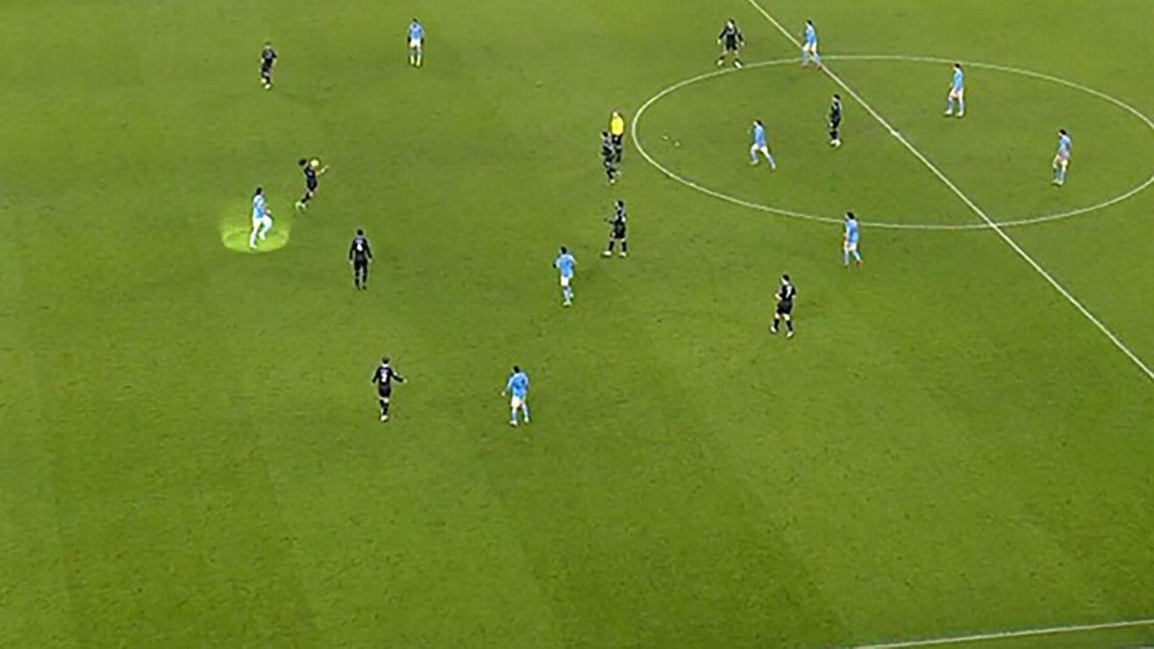 Man City's goal vs. Aston Villa was offside, Premier League admits - ESPN