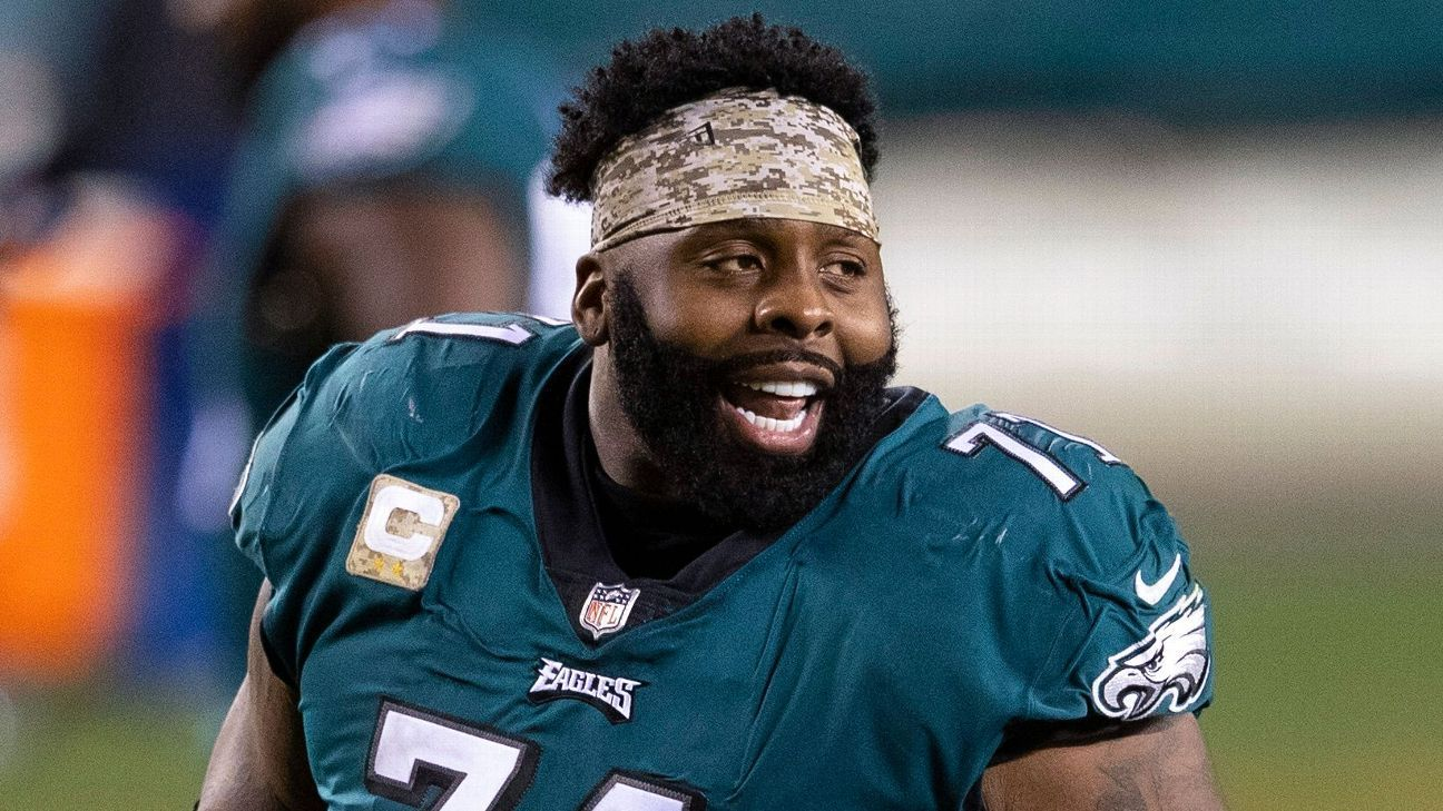 Chicago Bears reach deal with former Philadelphia Eagles stalwart Jason Peters
