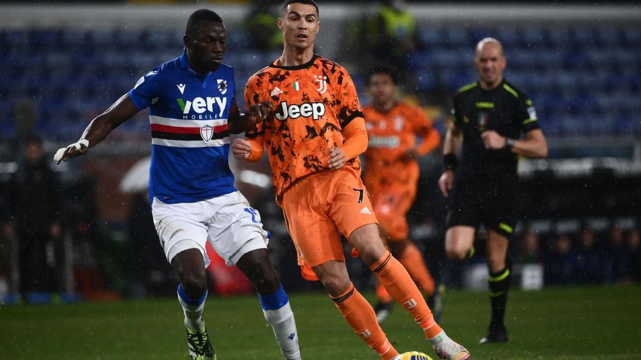 Sampdoria vs. Juventus - Reporte del Partido - 30 enero, 2021 - ESPN