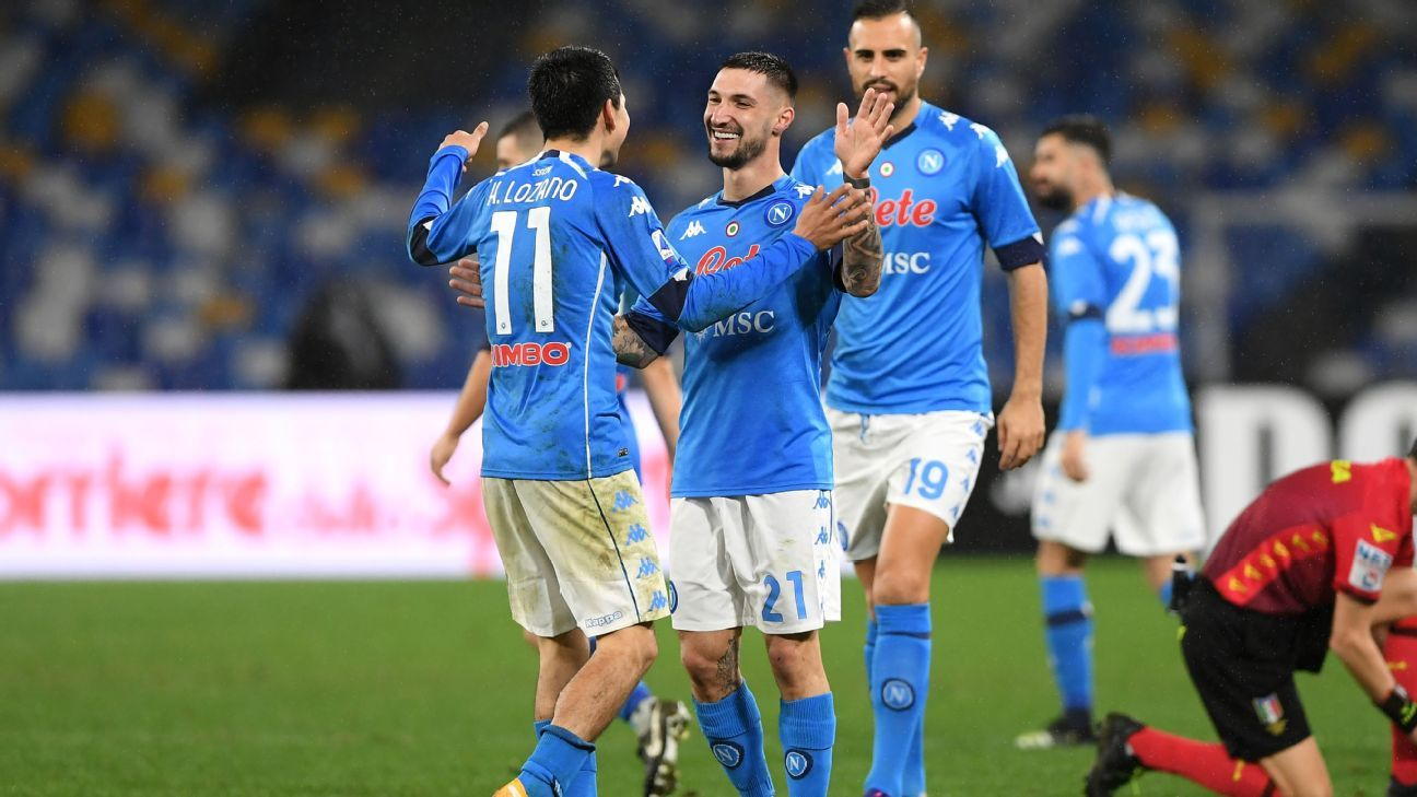 Napoli Vs Parma Football Match Report January 31 2021 Espn