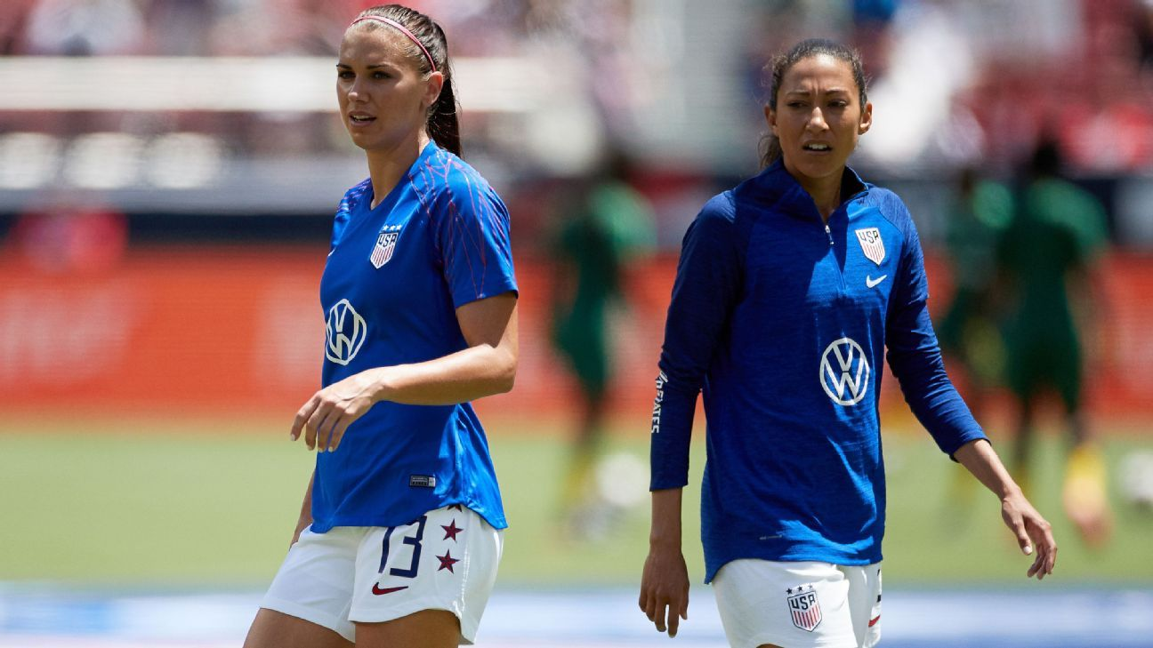 Morgan, Press return to USWNT for SheBelieves