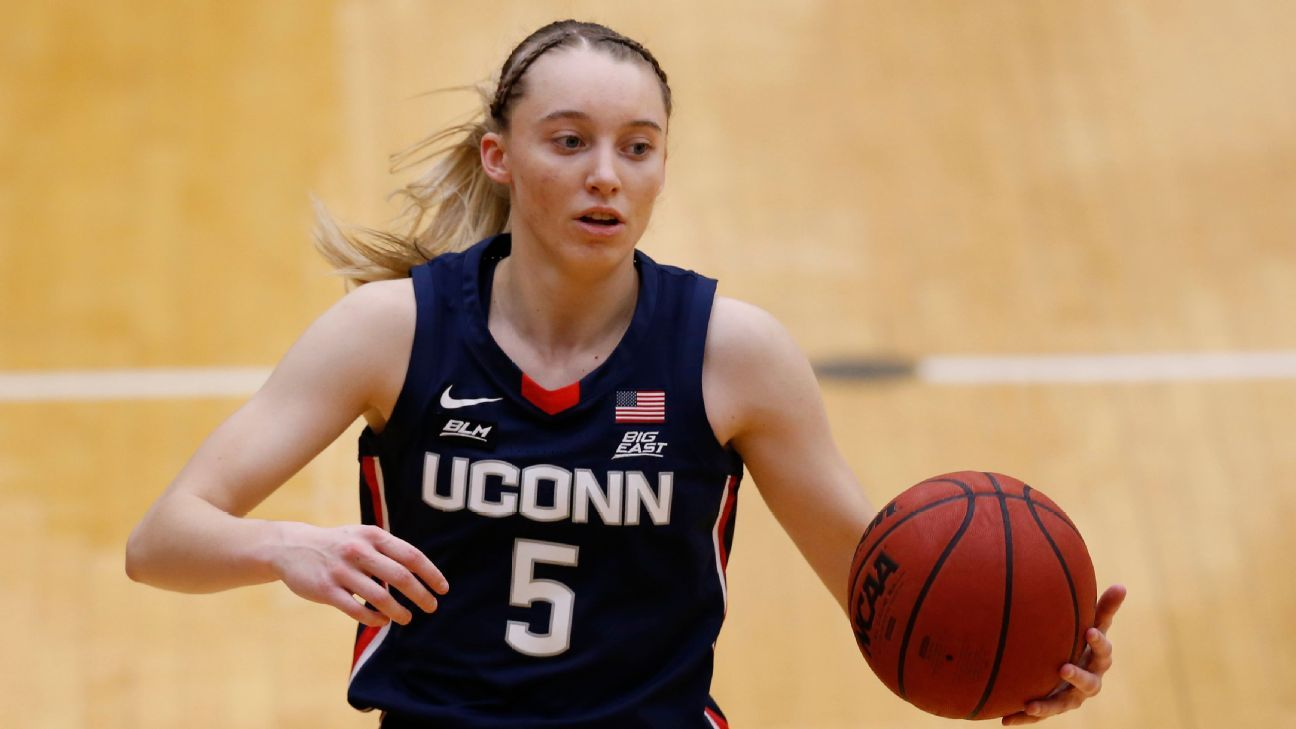 UConn Huskies star Paige Bueckers only freshman on Wooden Award top-15 list for women's college basketball - ESPN