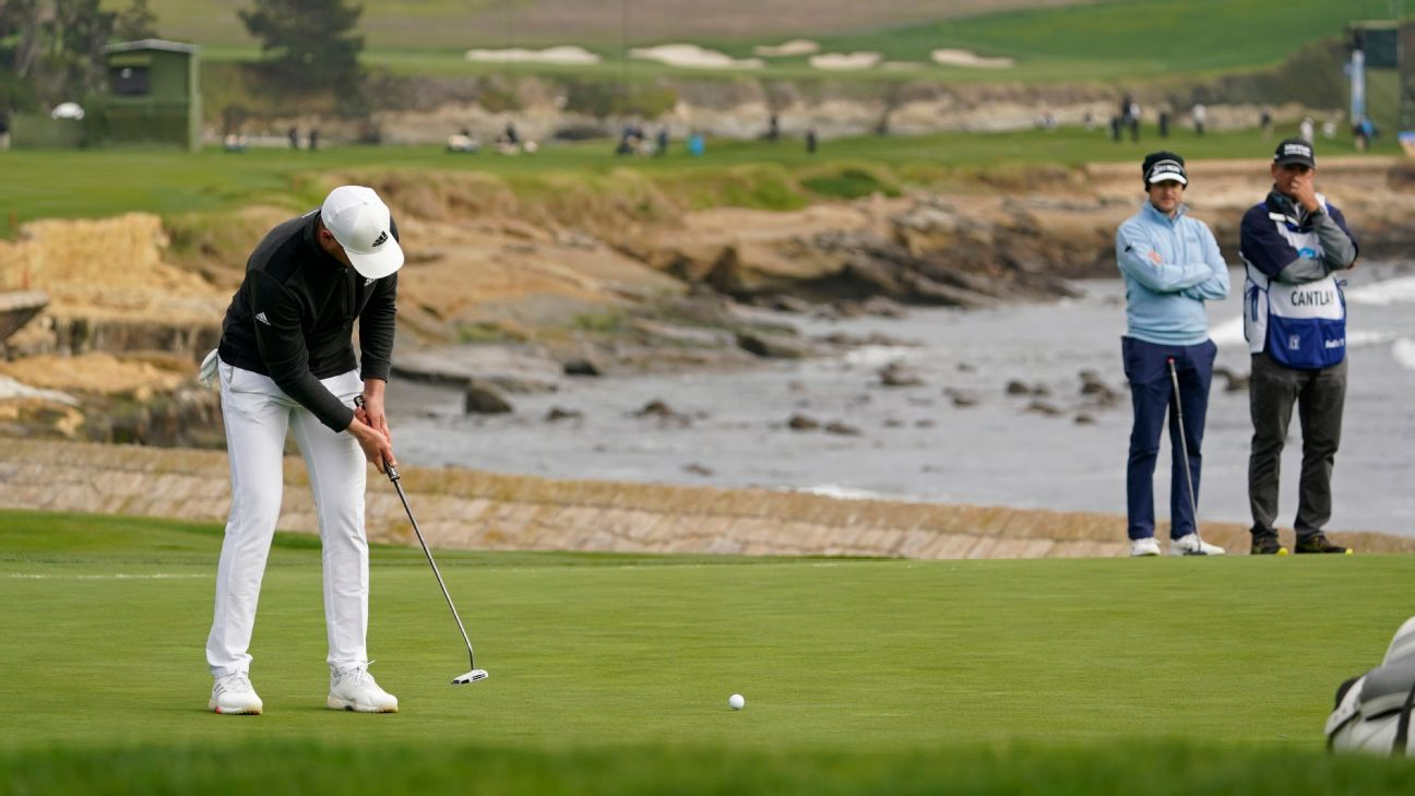 Berger seals win at Pebble with 30-foot eagle putt