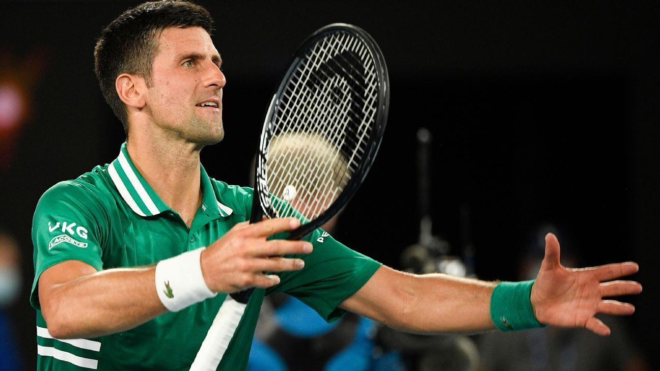 Djokovic wins, wonders about NBA-type bubble