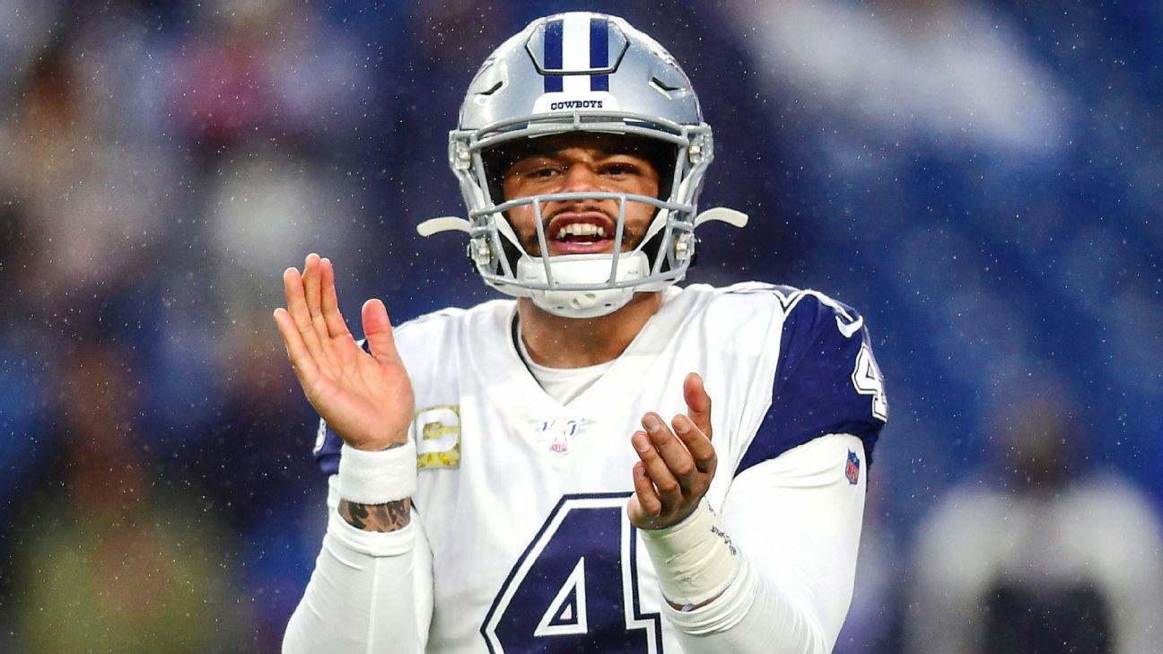 QB Dak Prescott, Dallas Cowboys reach four-year, $160 million deal, source says - ESPN