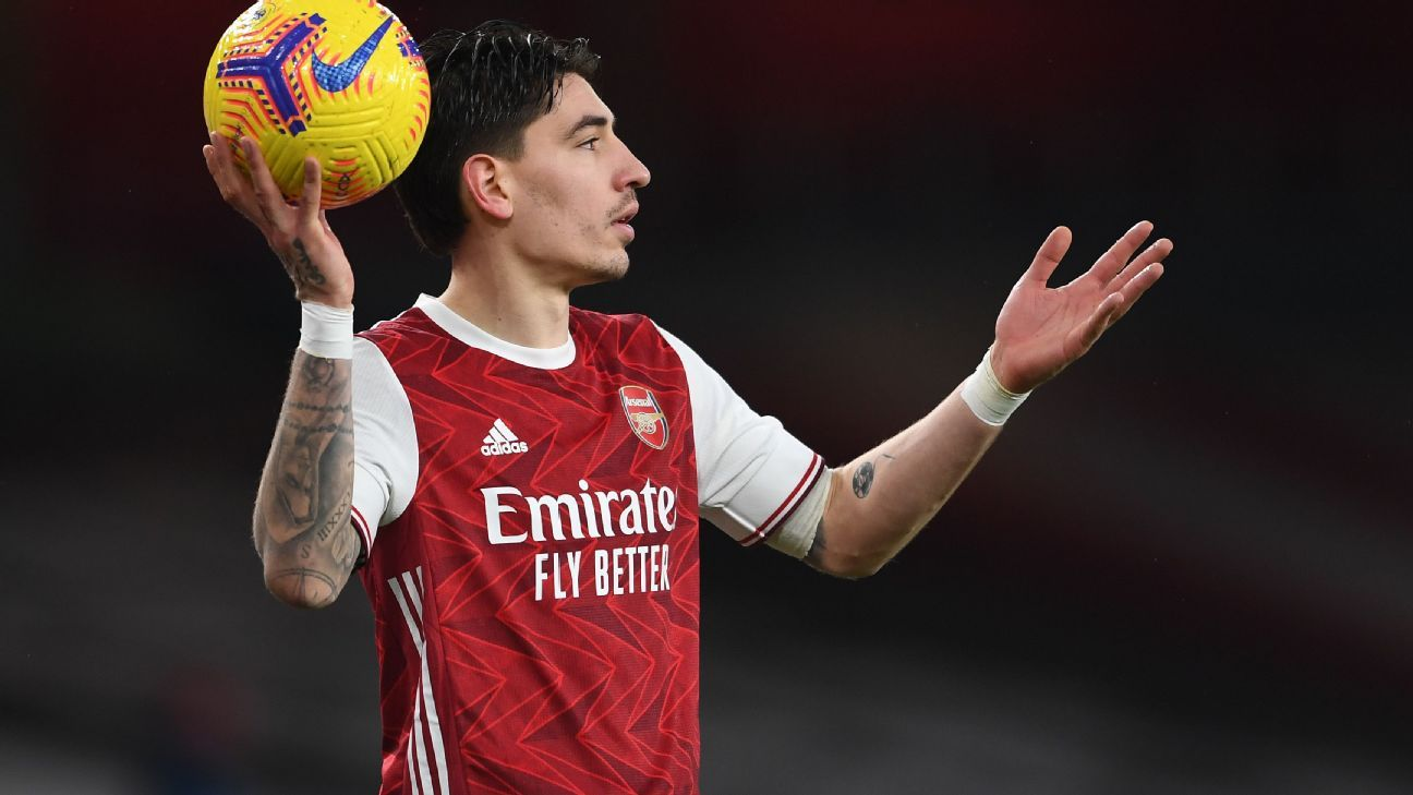 Notebook: Bellerin could leave Arsenal; Cavani has €2M release clause