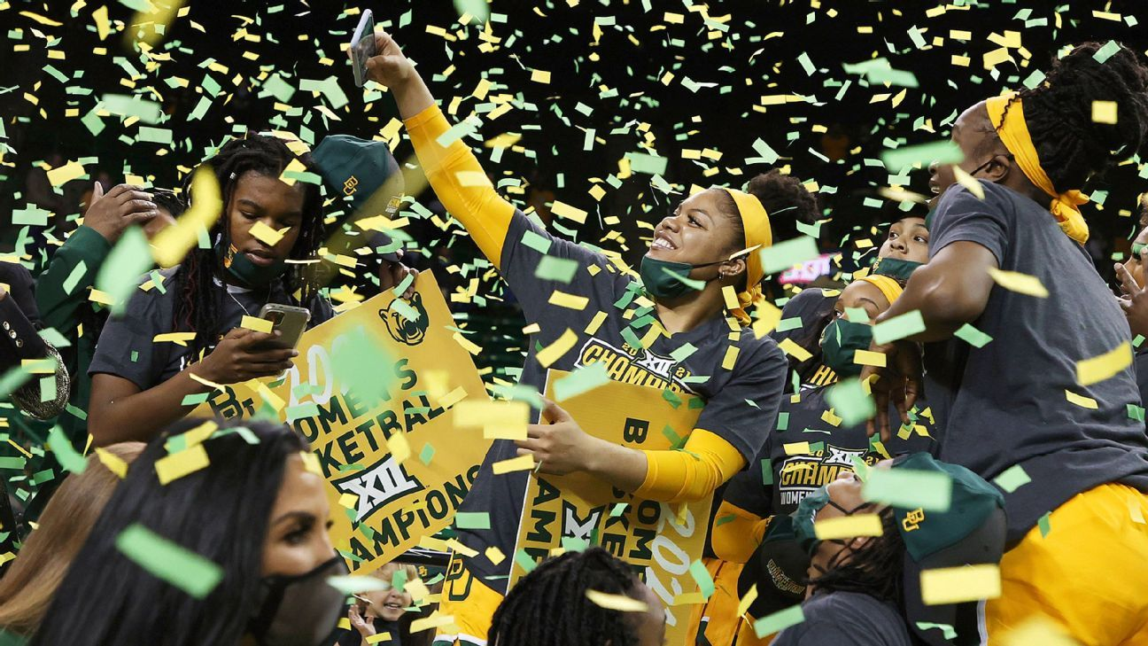 No. 7 Baylor Lady Bears extend nation's longest current streak with 11th straight Big 12 title