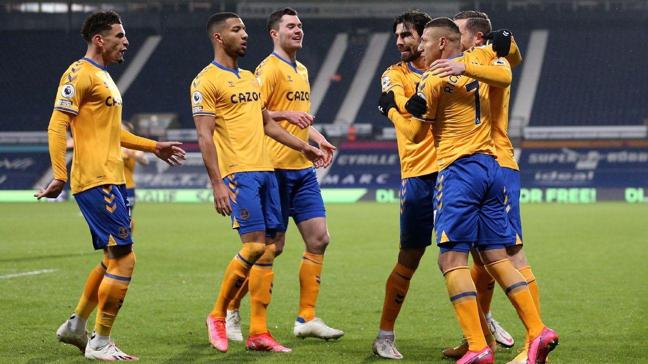 West Bromwich Albion vs. Everton - Reporte del Partido - 4 marzo, 2021 - ESPN