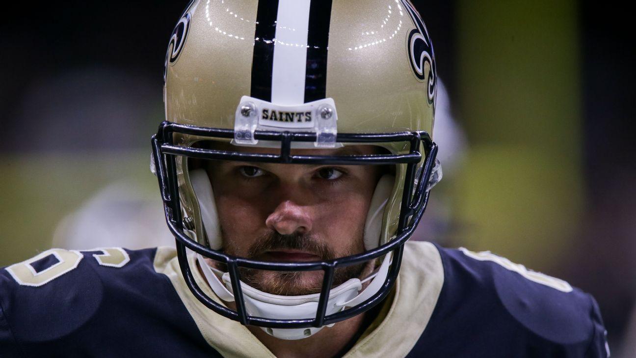 Thomas Morstead, longtime standout New Orleans Saints punter, released after 12 seasons - ESPN