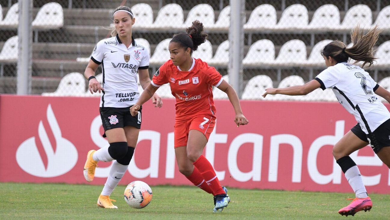 Libertadores Femenina: América de Cali cayó ante Corinthians y se prepara para los cuartos de final