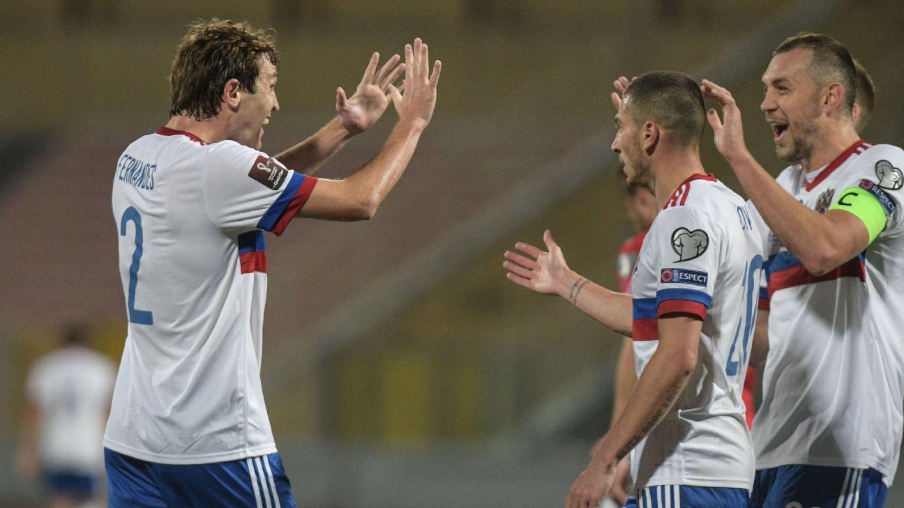 Malta vs. Russia - Football Match Report - March 24, 2021 - ESPN