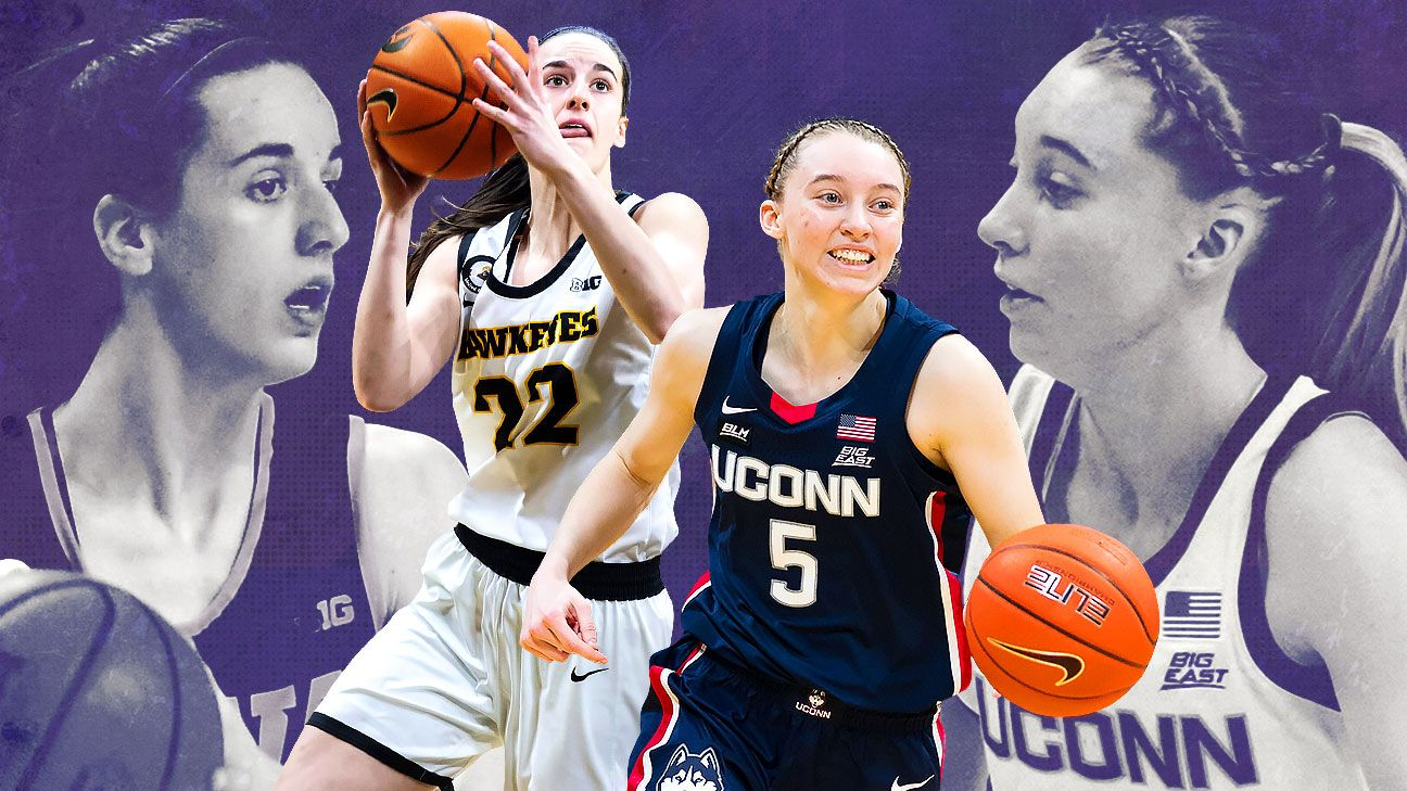 Paige Bueckers Caitlin Clark and everything you need to know about UConn-Iowa in the women's Sweet 16 – ESPN