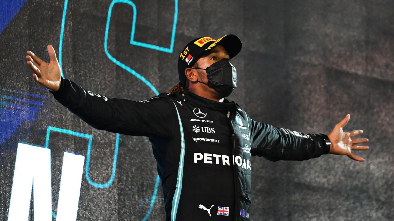 How Hamilton beat Verstappen with a slower car at the Bahrain Grand Prix - ESPN India