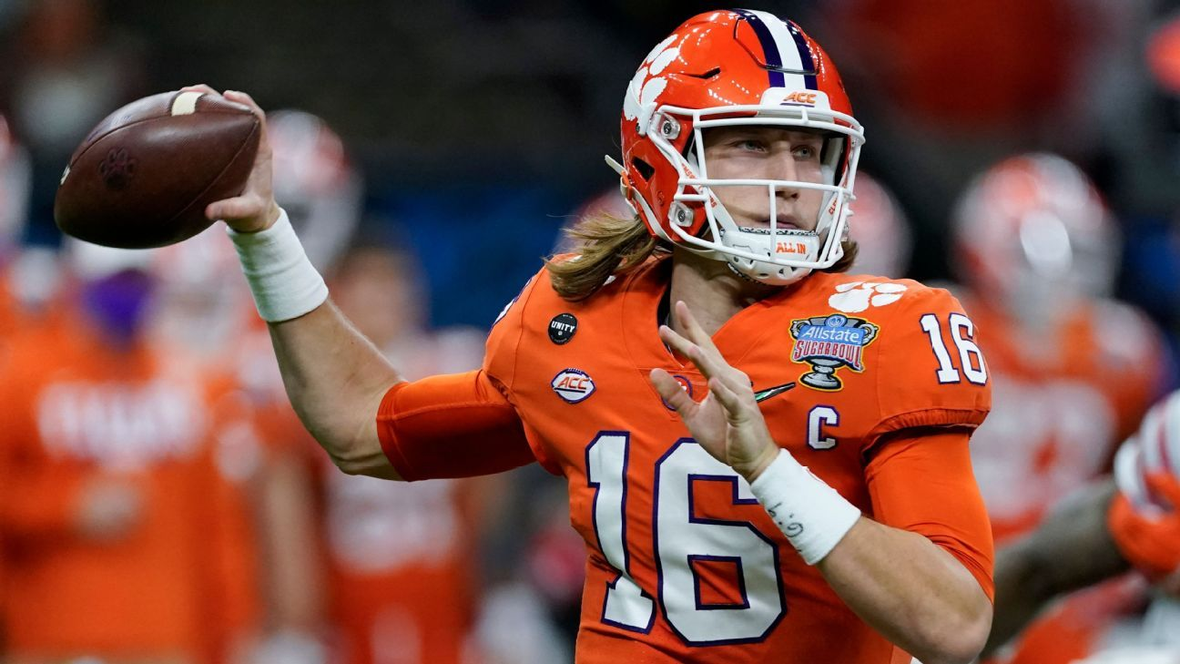Sources - Trevor Lawrence won't attend NFL draft in Cleveland, will watch at Clemson instead