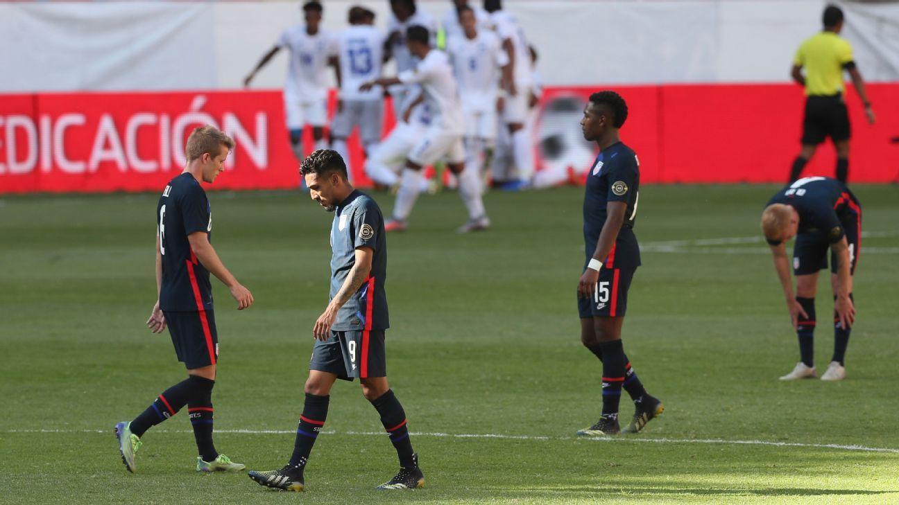 Honduras U23 vs. United States U23 - Football Match Summary - March 28, 2021 - ESPN