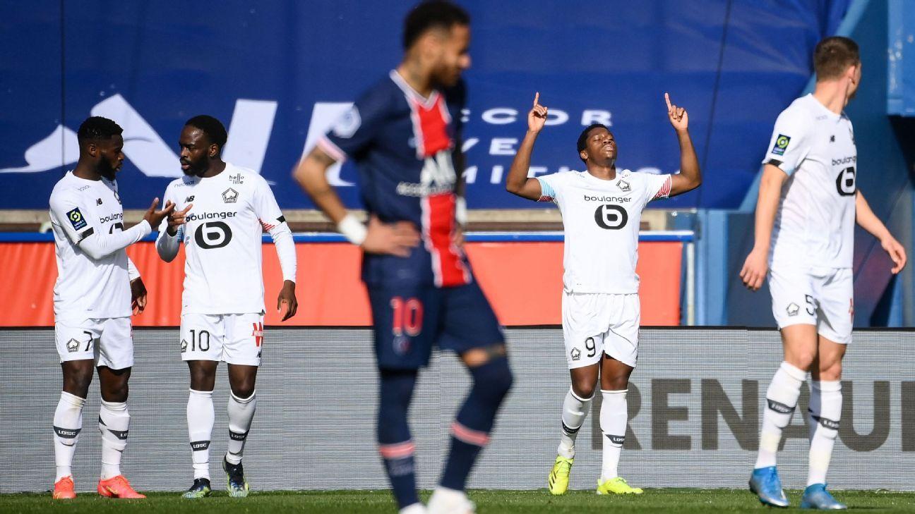 Paris Saint-Germain vs. Lille - Reporte del Partido - 3 abril, 2021 - ESPN