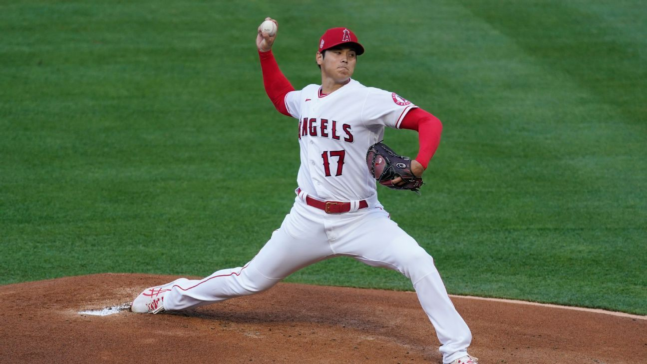 Los Angeles Angels' Shohei Ohtani becomes first All-Star picked as pitcher, position player