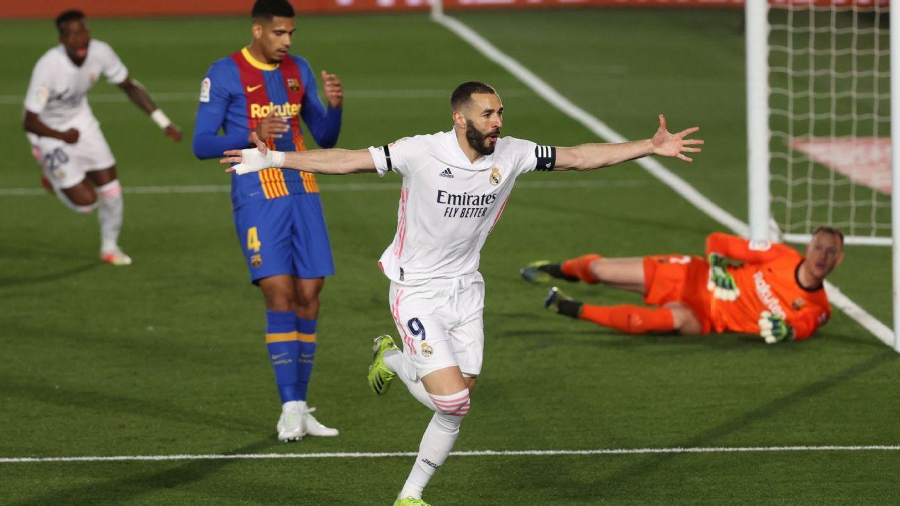 Real Madrid vs. Barcelona - Reporte del Partido - 10 abril, 2021 - ESPN