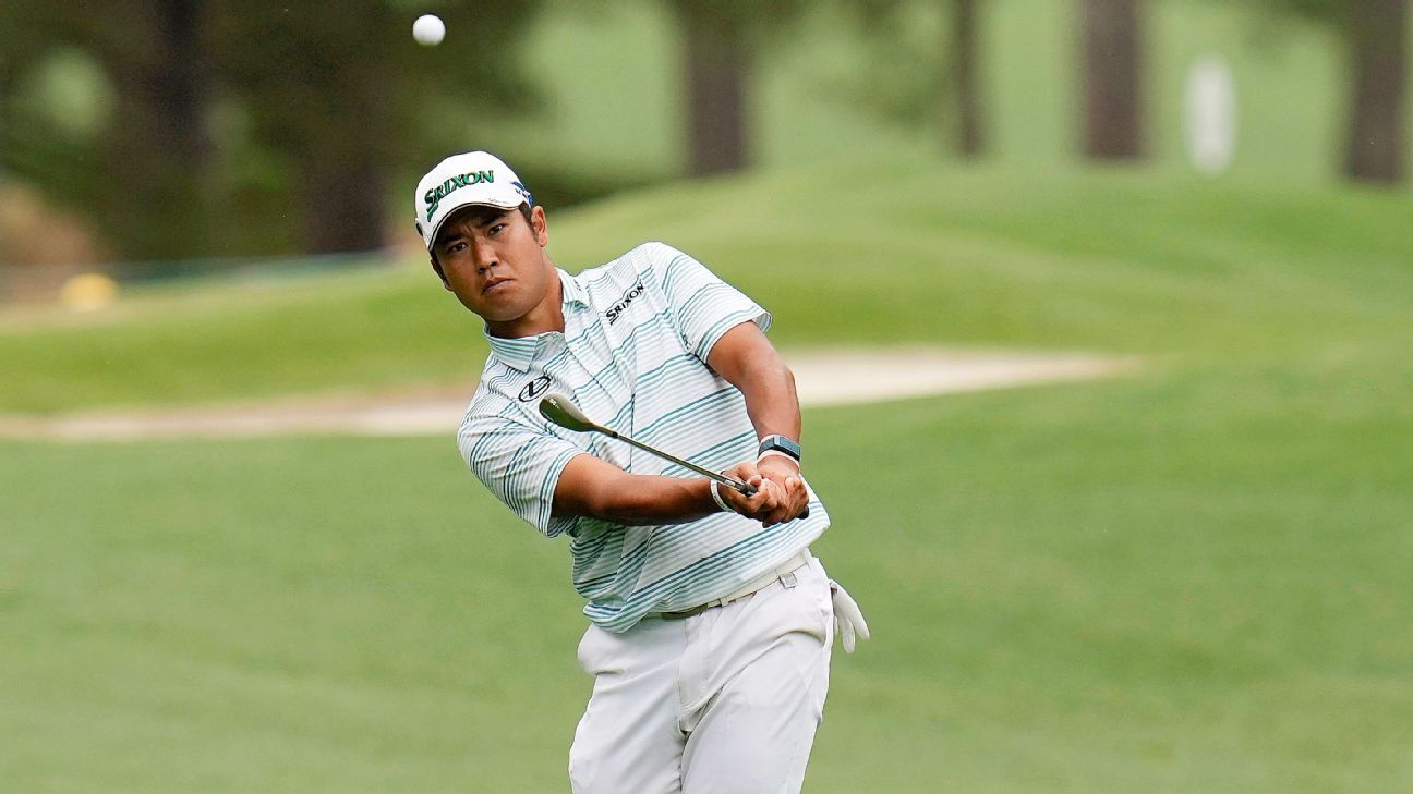 Matsuyama shoots 7-under 65, leads at Masters