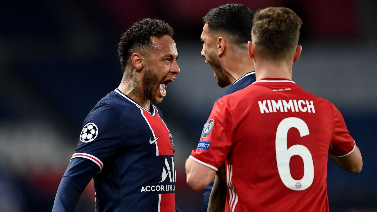 Neymar's PSG is banishing its Champions League demons