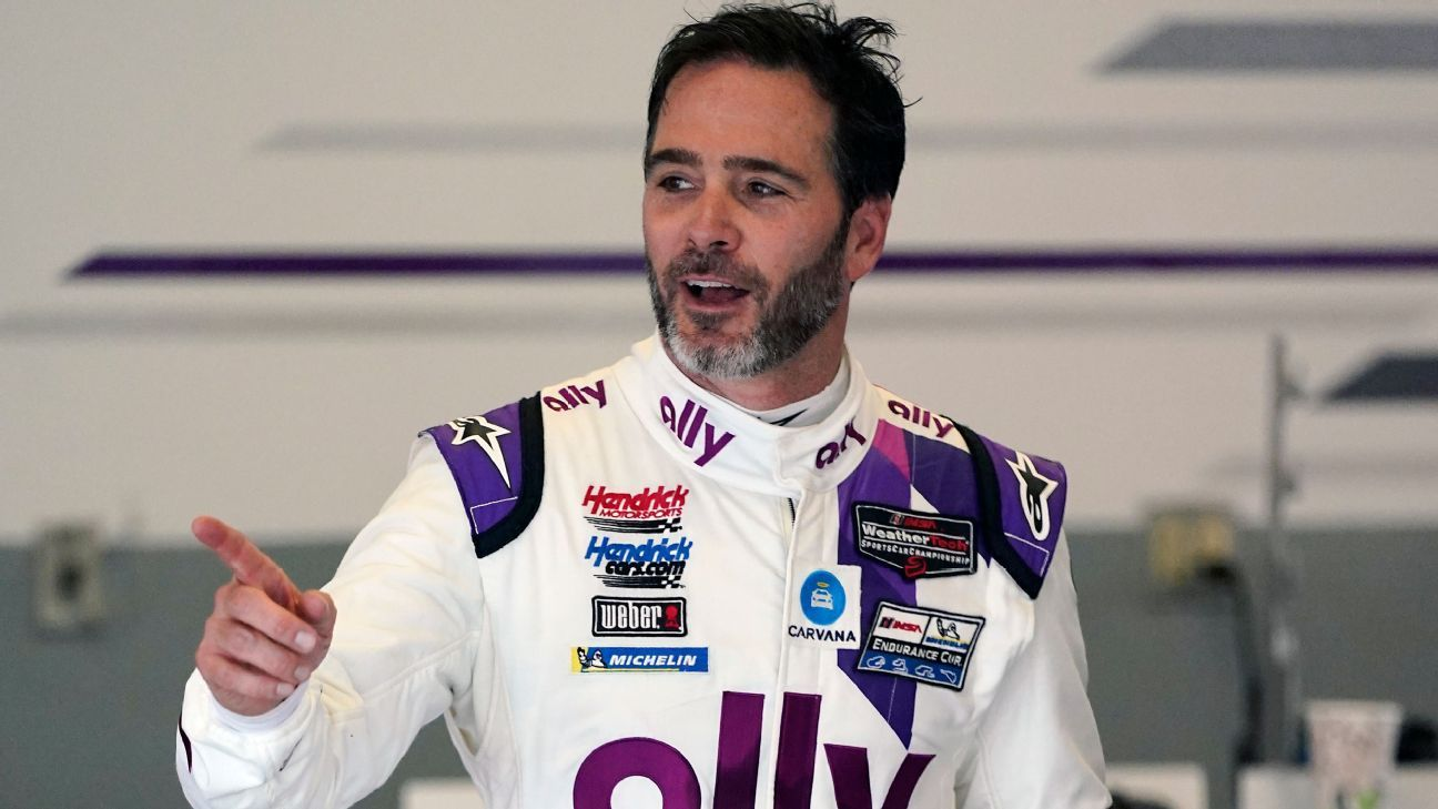 Jimmie Johnson set for latest challenge, as the NASCAR legend takes on IndyCar thumbnail