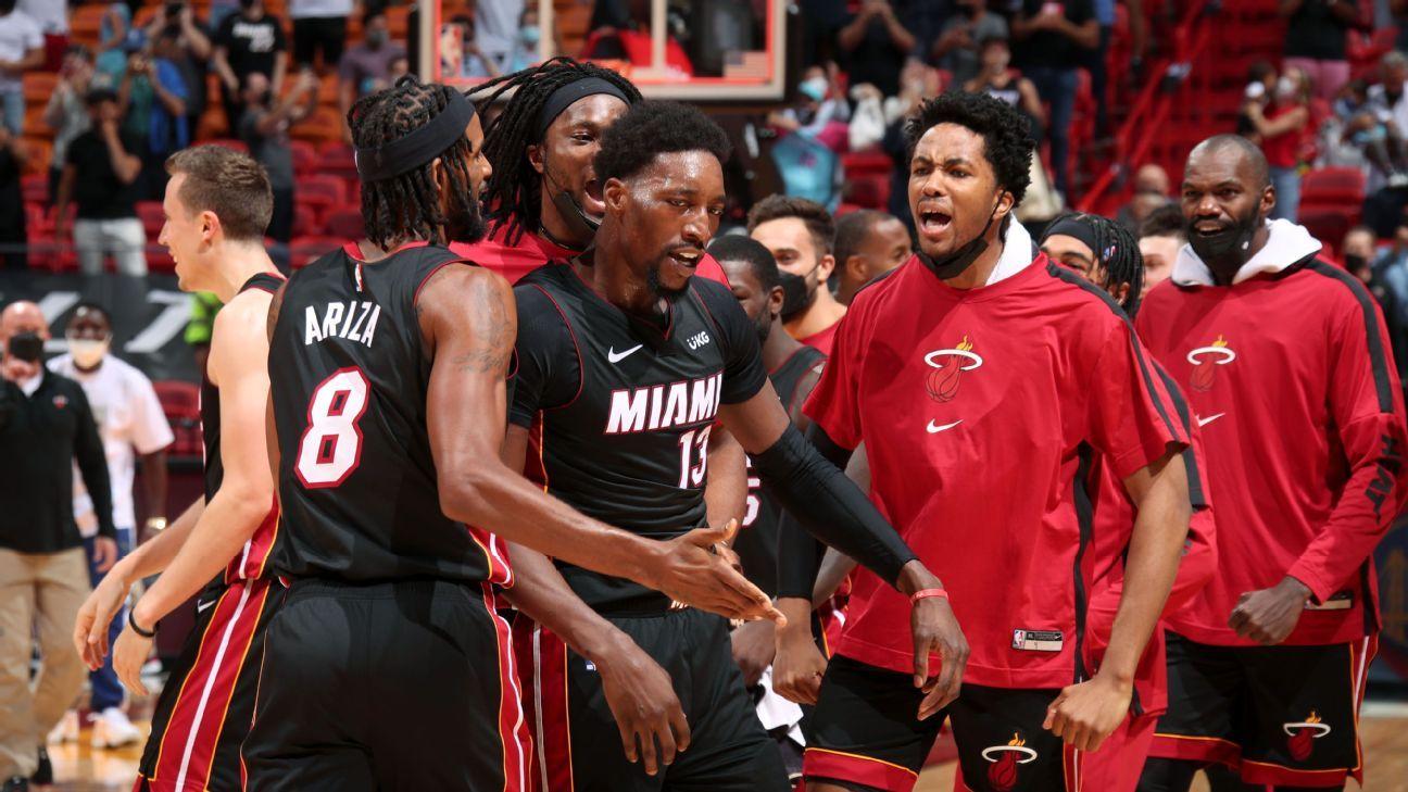 Miami Heat star Bam Adebayo drills game-winning jumper to beat Brooklyn Nets