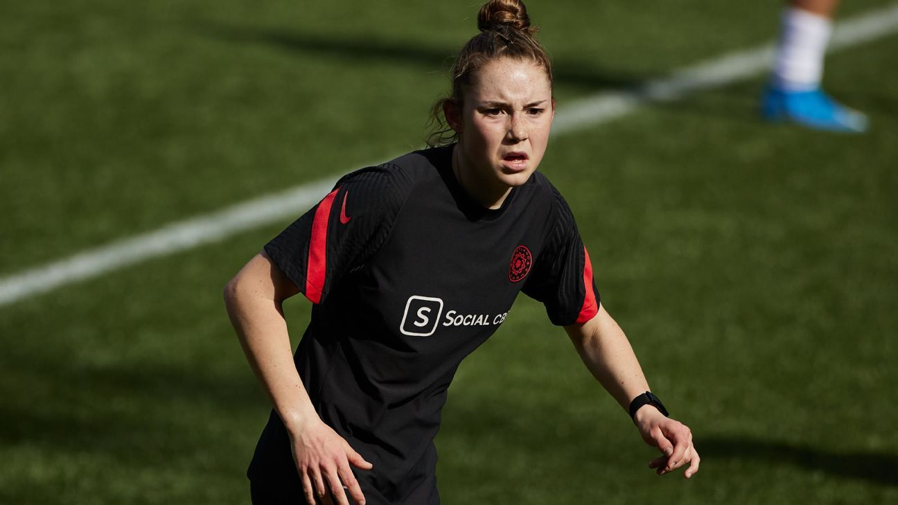 Portland Thorns teen Moultrie files suit against NWSL over age restrictions