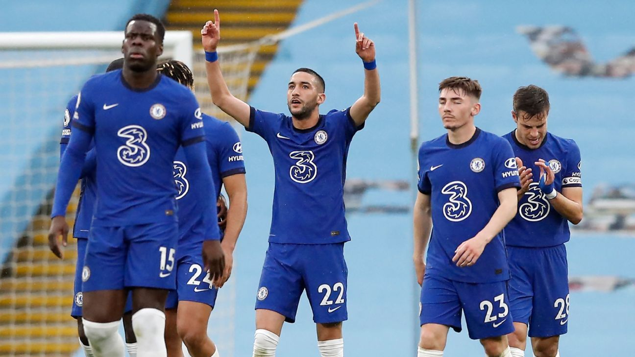 Manchester City Vs Chelsea Football Match Report May 8 2021 Espn