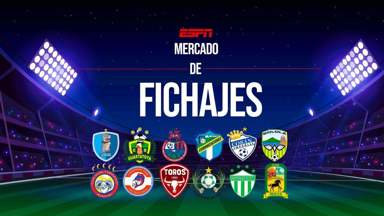 ¡Al rojo vivo! Mercado de fichajes en la Liga Nacional para el Apertura 2021