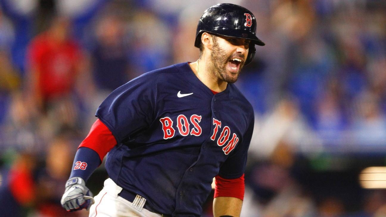 Boston Red Sox DH J.D. Martinez, OF Jarren Duran activated off COVID-19 list, back in lineup