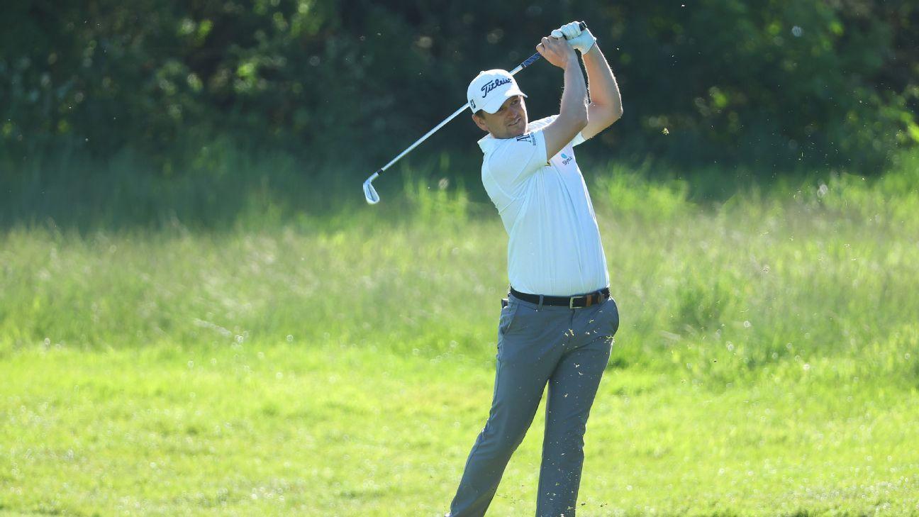 Wiesberger takes lead into Denmark final round