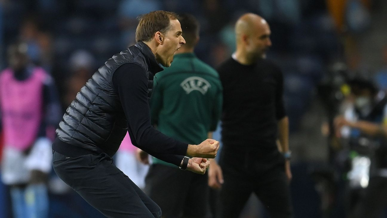 Thomas Tuchel stays simple Pep Guardiola overthinks – again – as Chelsea beat Man City to win UCL – ESPN