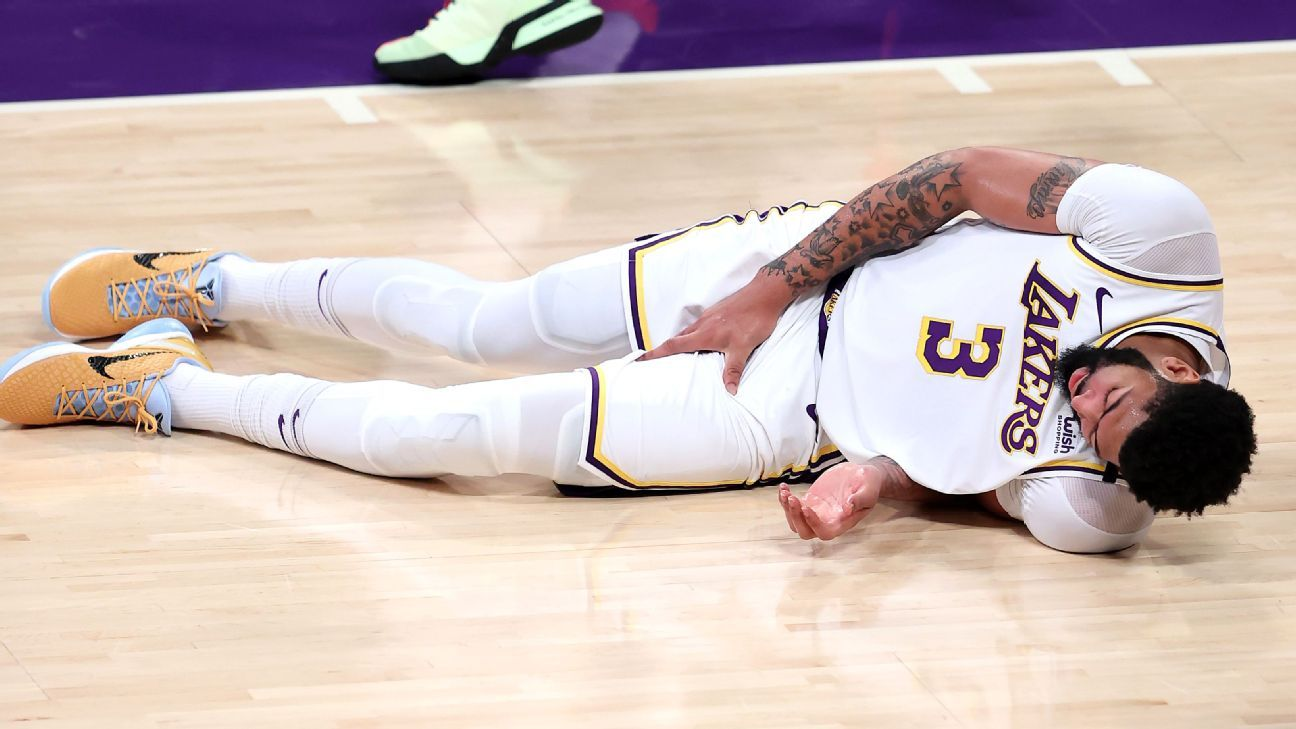 Lakers' Davis (groin) questionable for Game 5 thumbnail