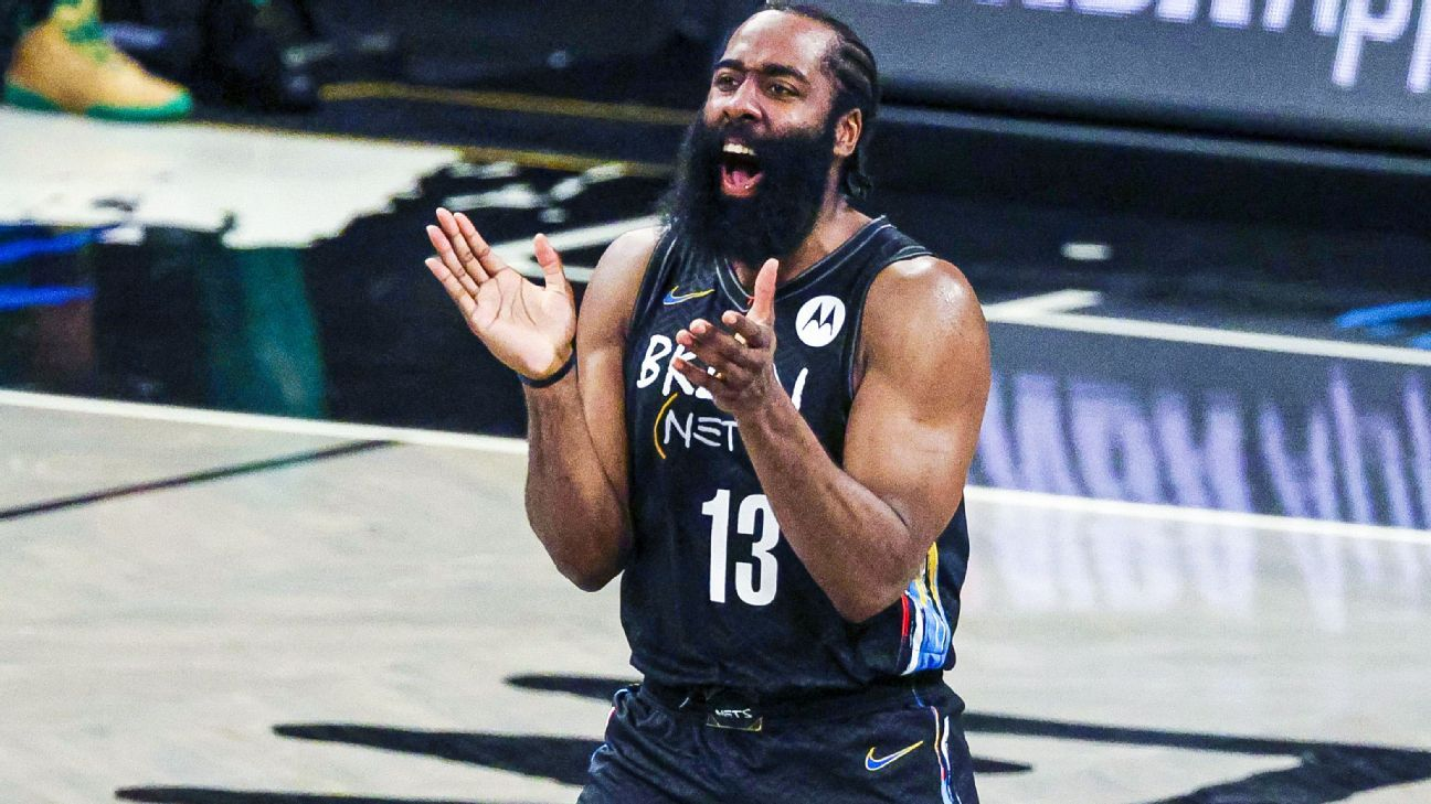 Sources — Brooklyn Nets' James Harden hopeful to return for Game 5 against Milwaukee Bucks – ESPN