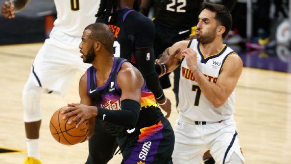Qué se puede esperar del duelo entre Denver Nuggets y Phoenix Suns?