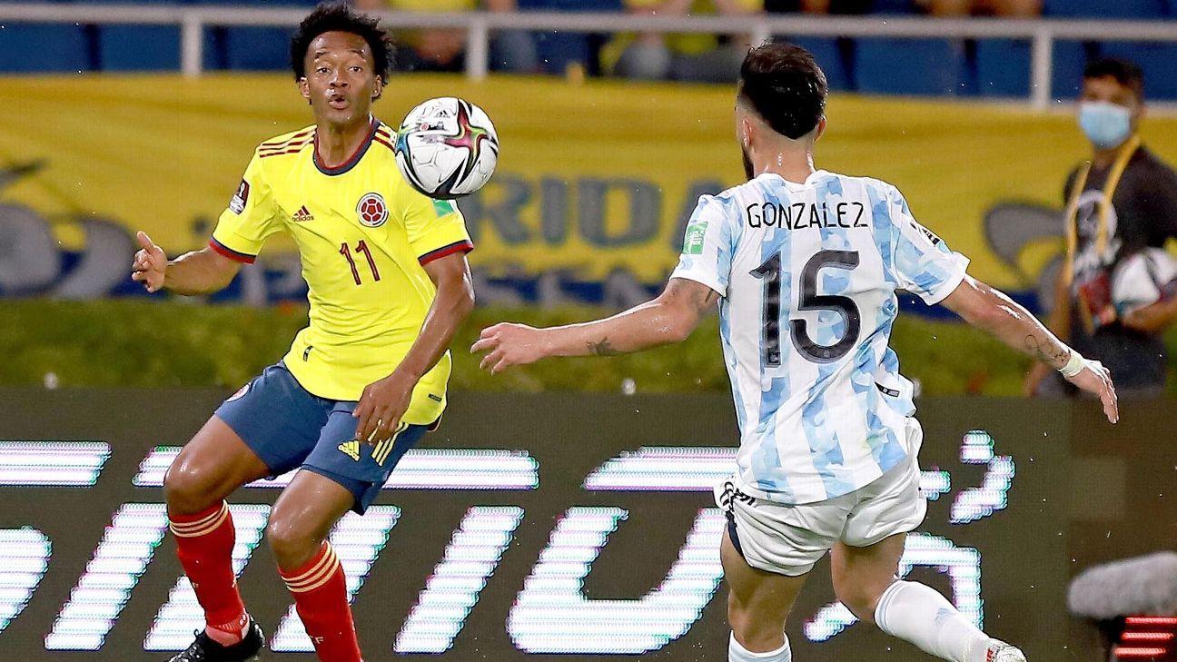 Colombia vs. Argentina - Resumen de Juego - 8 junio, 2021 - ESPN