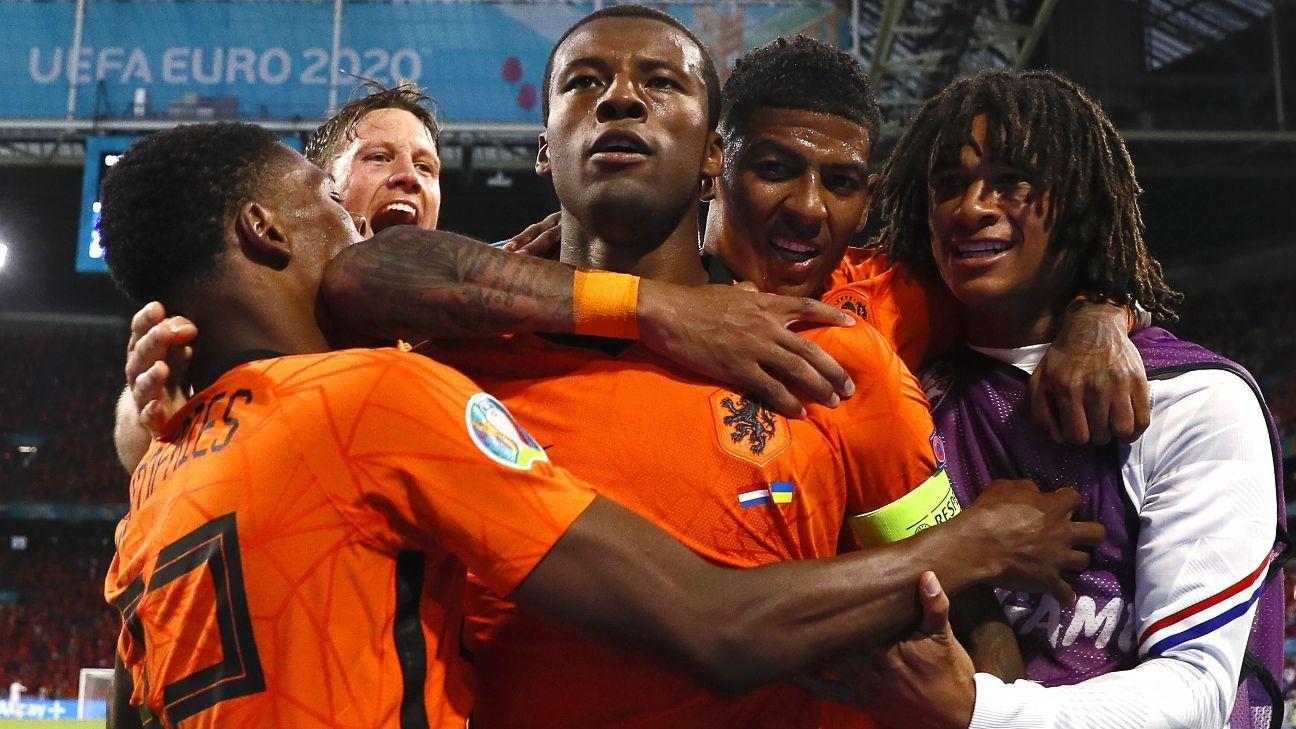 Países Bajos vs. Ucrania - Reporte del Partido - 13 junio, 2021 - ESPN