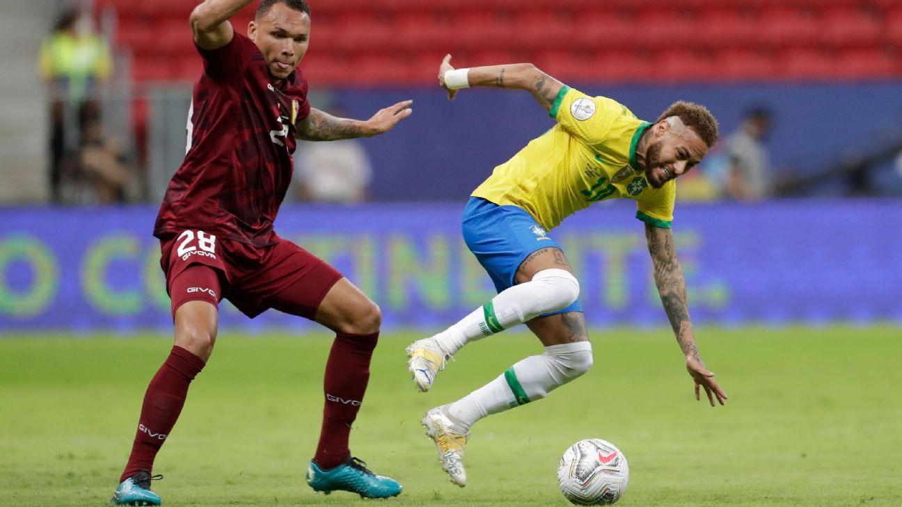 Brasil vs. Venezuela - Reporte del Partido - 13 junio, 2021 - ESPN