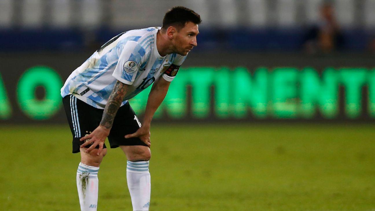 Copa America opener highlights Argentina's frailties
