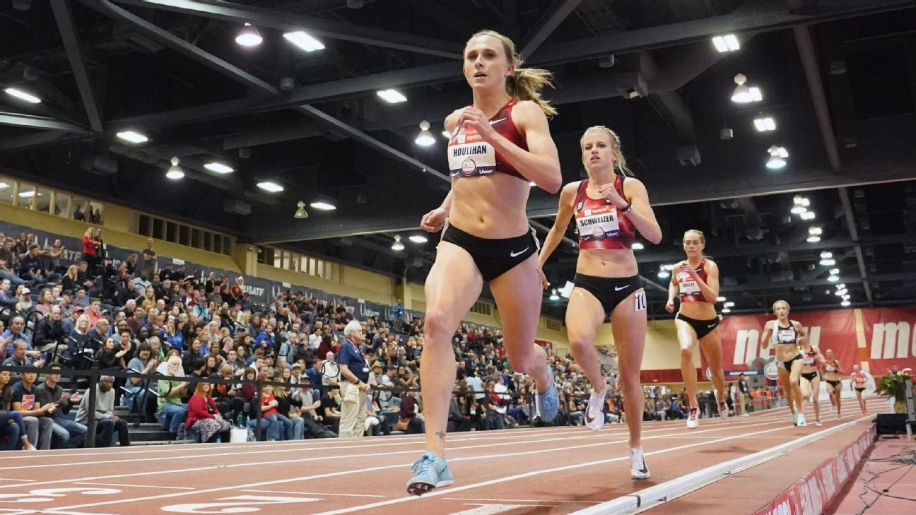 Shelby Houlihan's name removed from start list at U.S. track trials