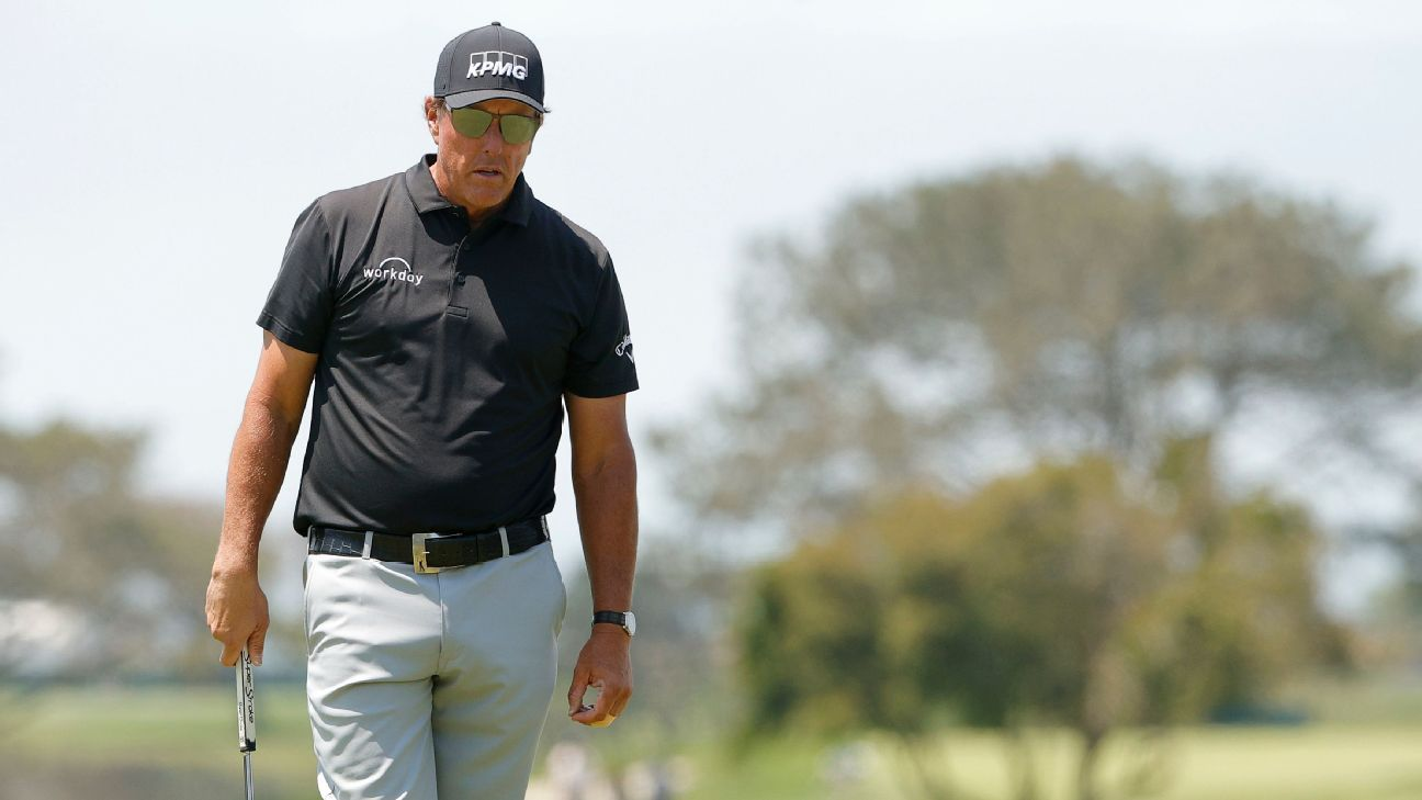 Phil Mickelson's bad day Rory McIlroy's good day and what comes next at the U.S. Open – ESPN