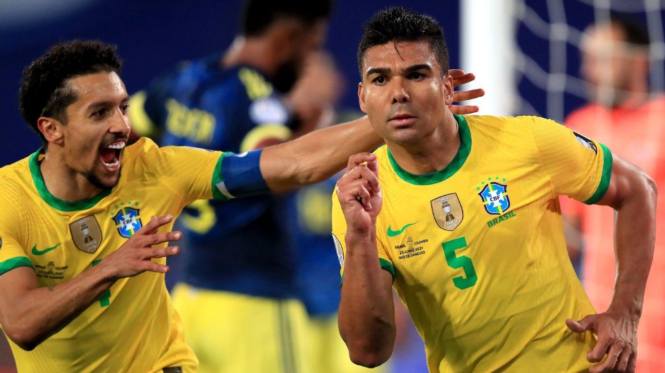 Brazil vs. Colombia - Football Match Report - June 23, 2021 - ESPN