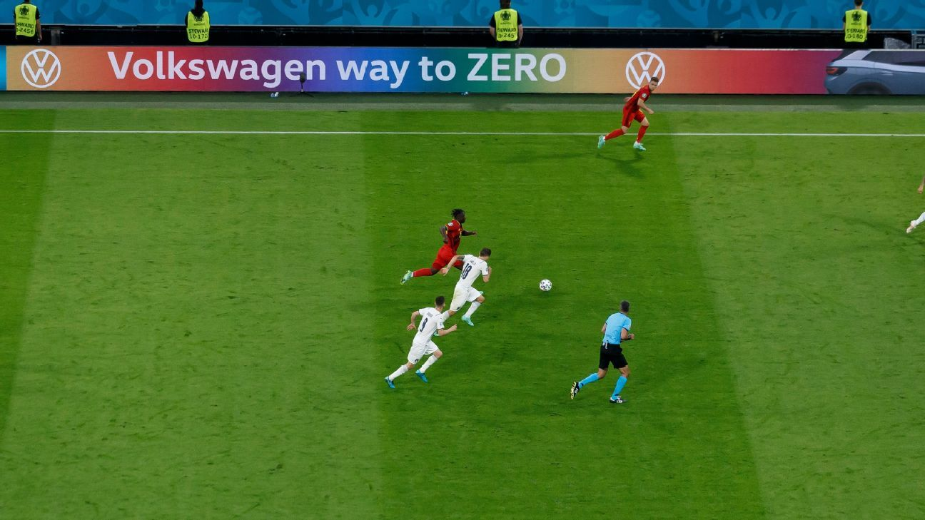 UEFA bans rainbow ads for two Euro quarters