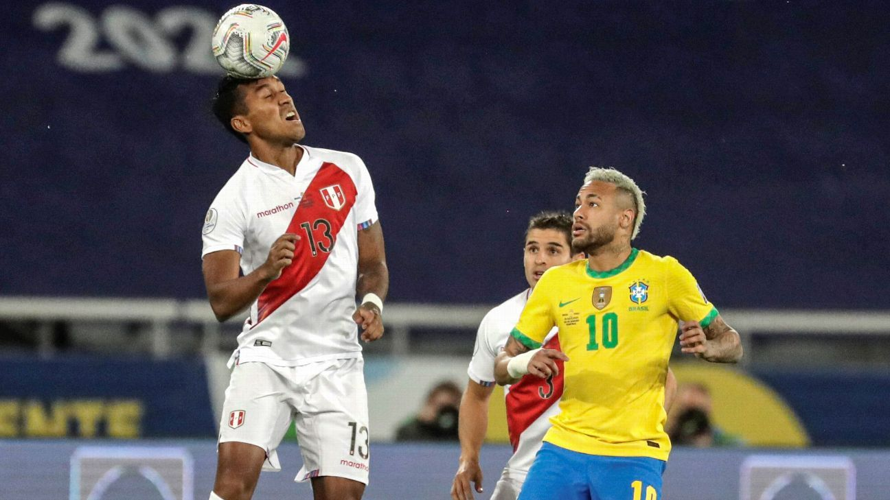 Vanquished Peru might have exposed Brazil's weakness