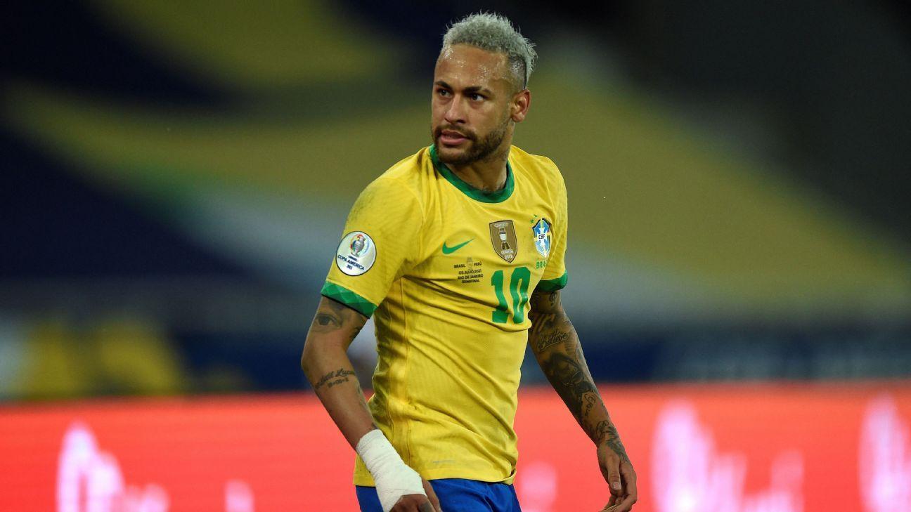 Neymar slams Brazil fans backing Messi in Copa