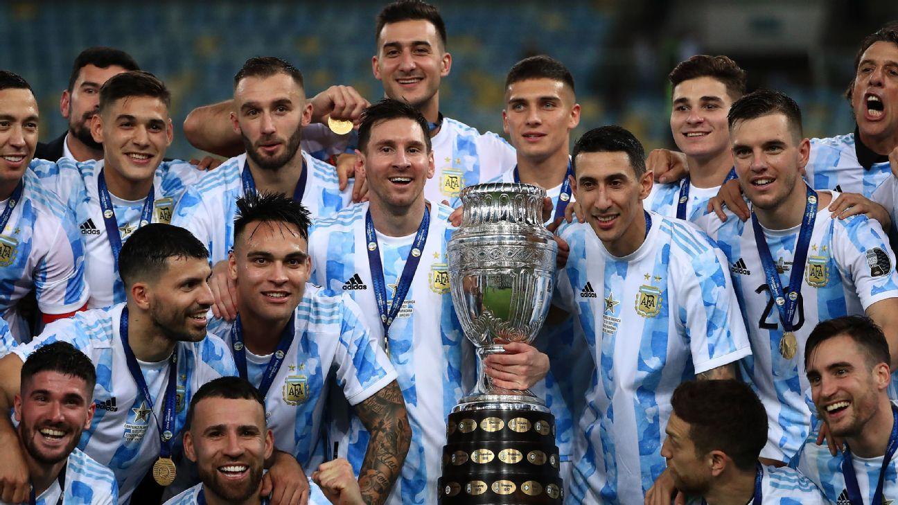 Argentina enfrentará a Italia en junio de 2022, primer duelo acordado entre campeones de Conmebol y UEFA