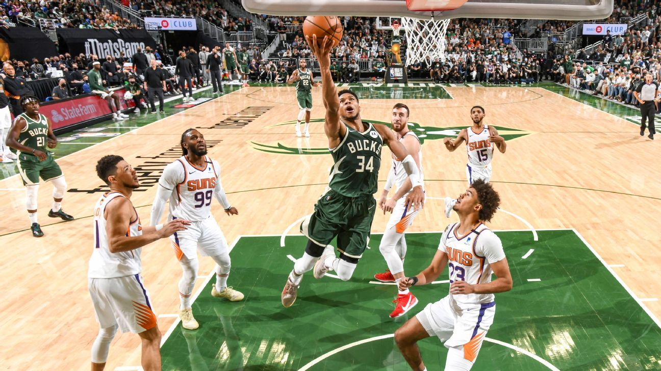 The Bucks reminded the Suns they have the best player in the NBA Finals thumbnail